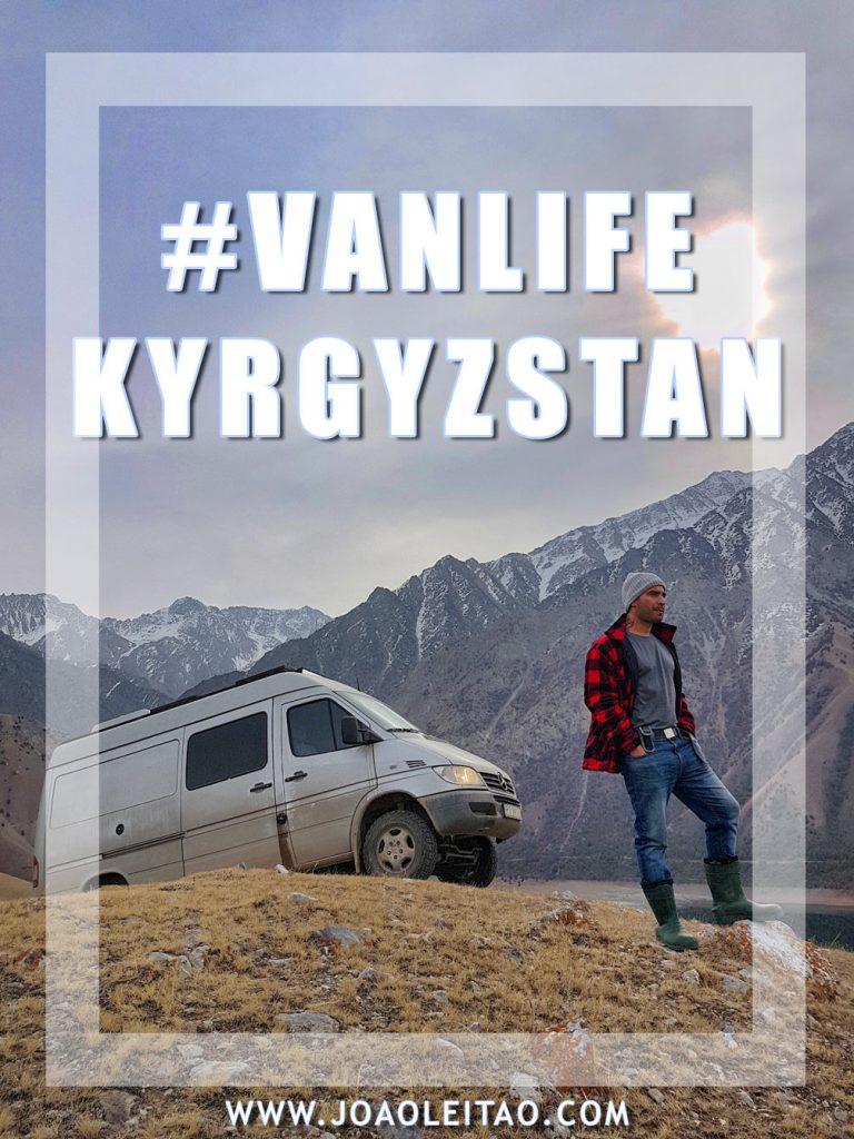 Van Life Kyrgyzstan: one-month road trip with a 4×4 camper van