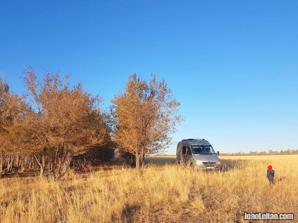 Van Life Kazakhstan: 2-Week Camper Van Road Trip » 2960 km