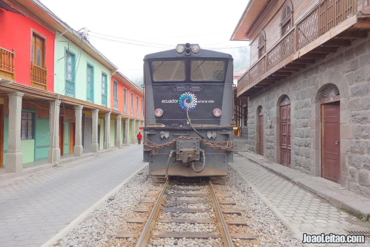 Alausi in Ecuador
