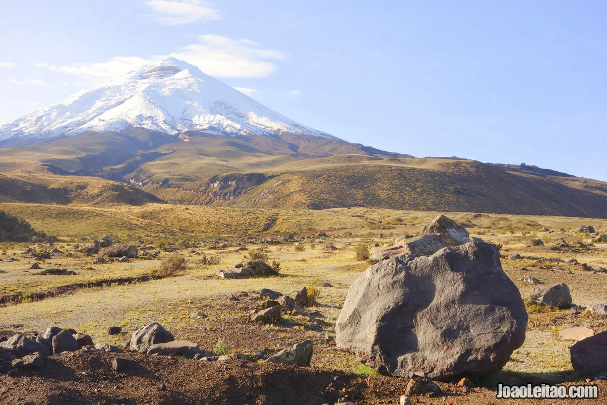 Cotopaxi National Park in Ecuador