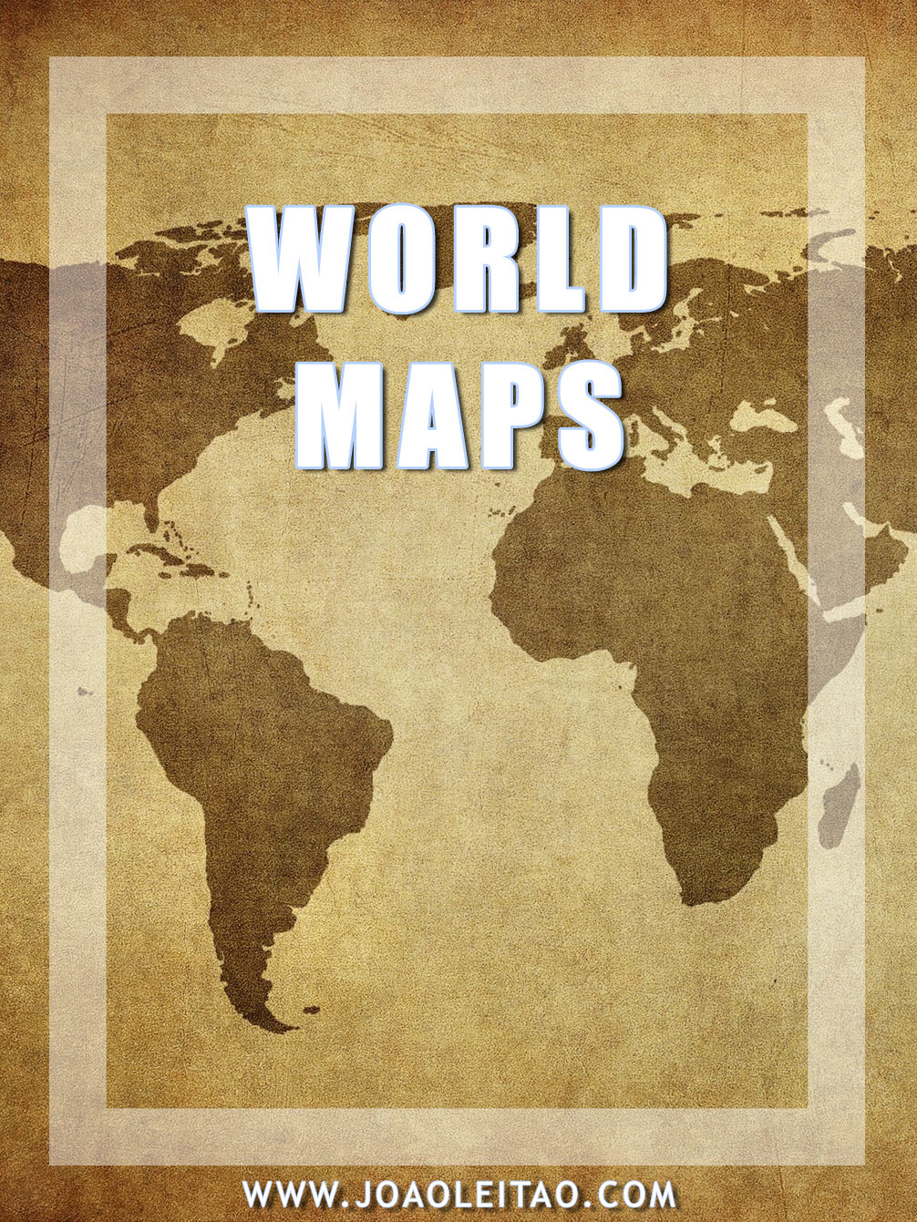 Different world map projections