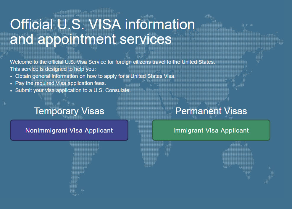 Getting the Visa for the USA