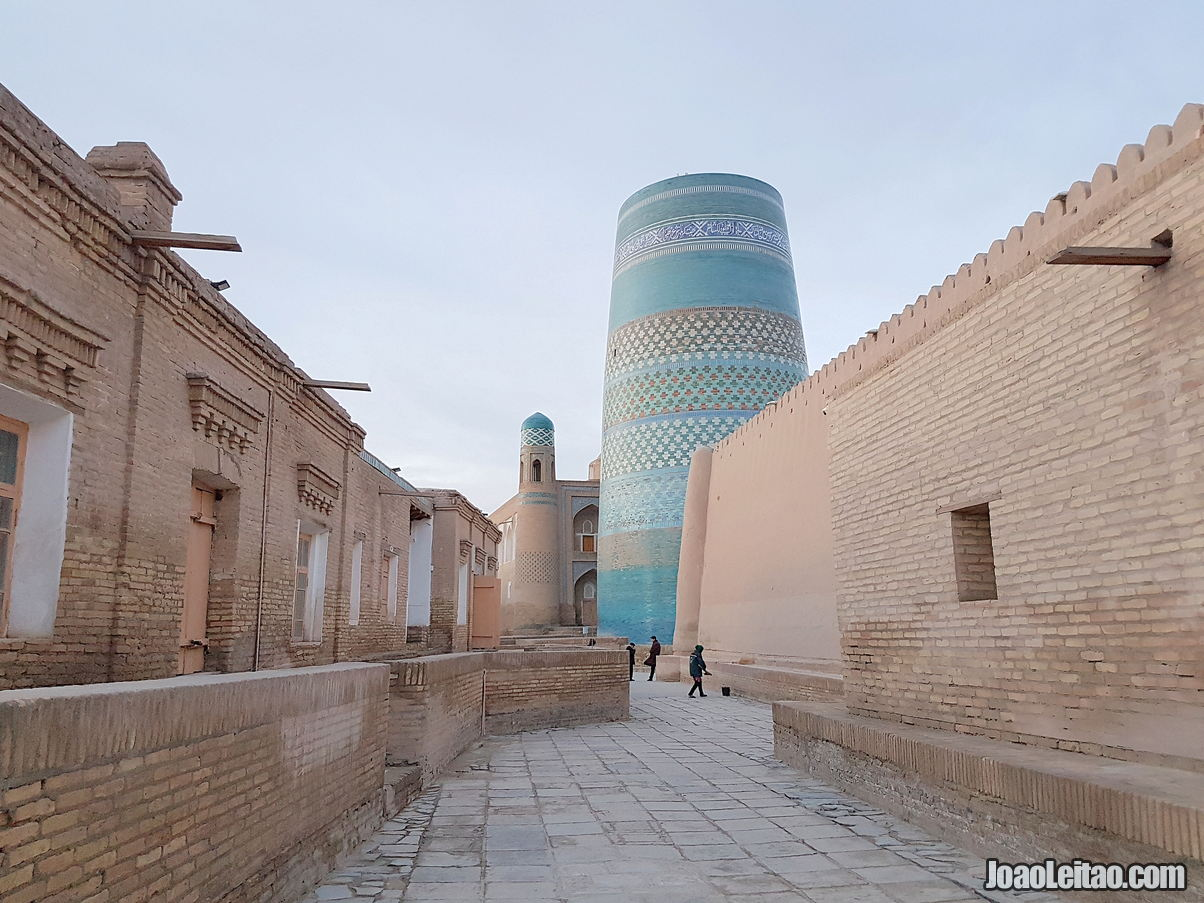 Kalta Minor Minaret in Khiva