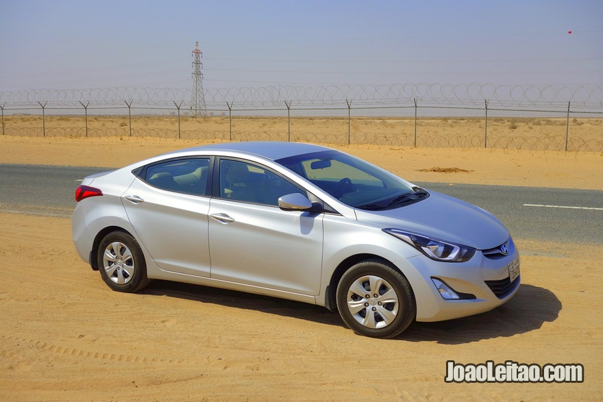 Hyundai Elantra, Rent-a-car in Kuwait