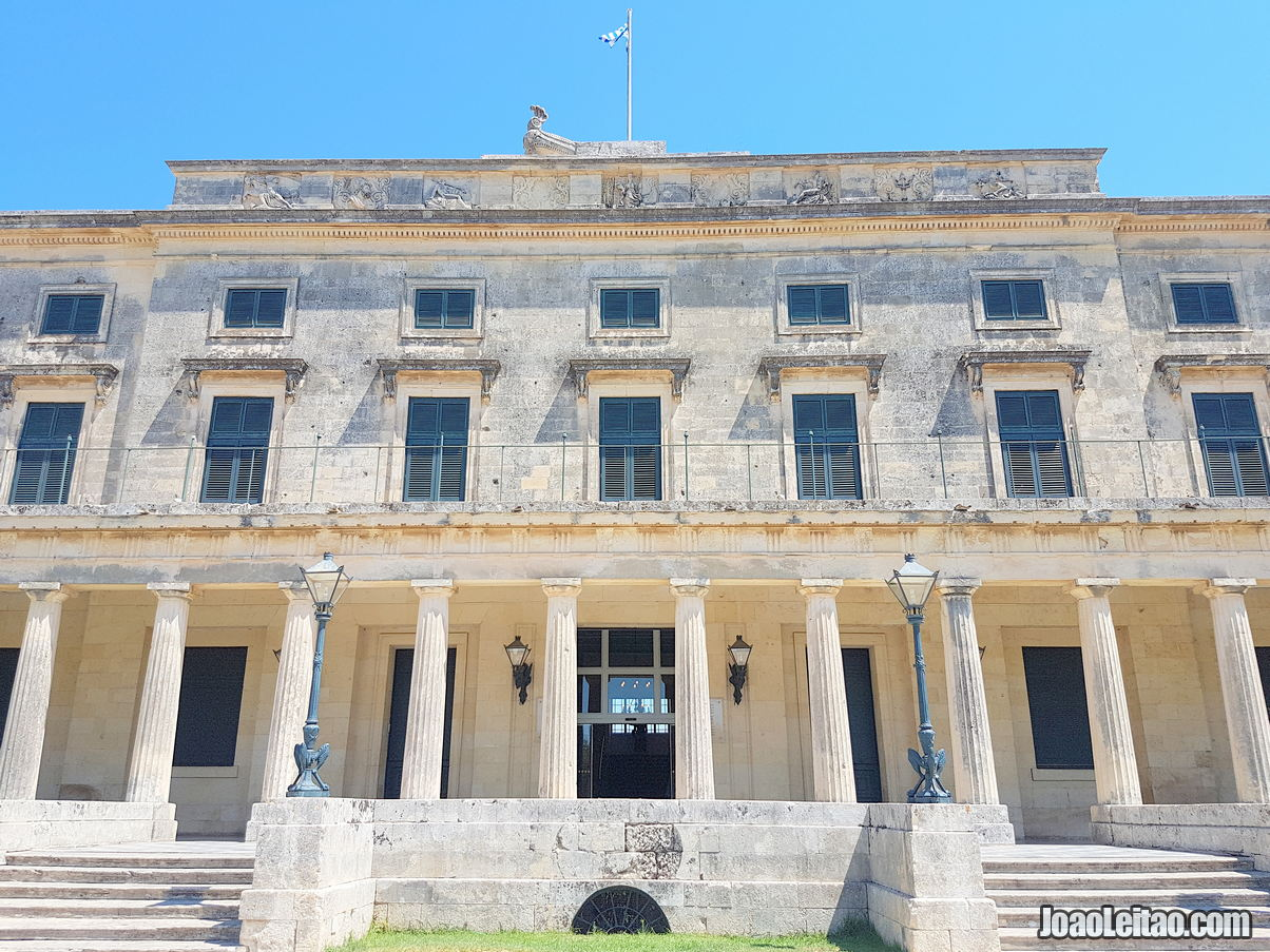 Palace of St. Michael and St. George in Corfu