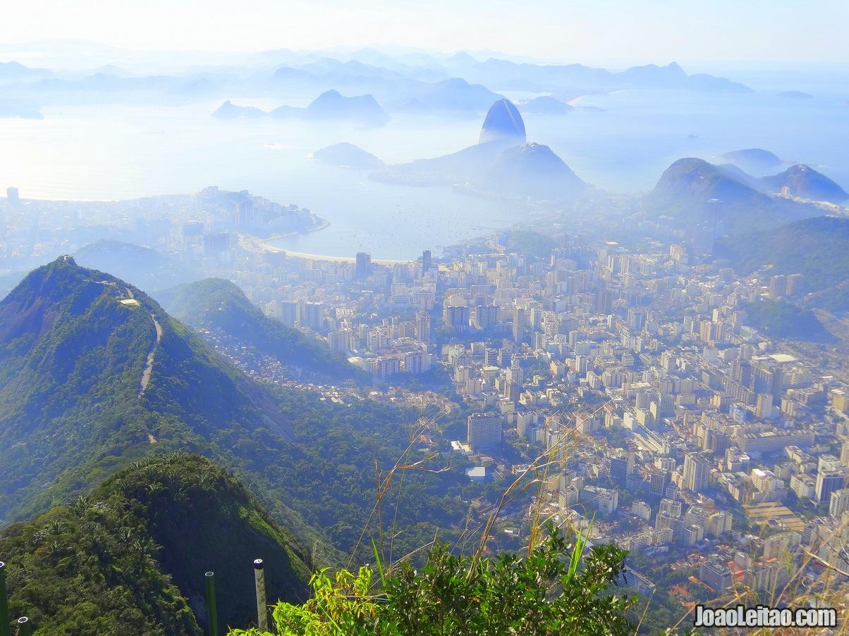 View of Guanabara Bay in Rio de Janeiro