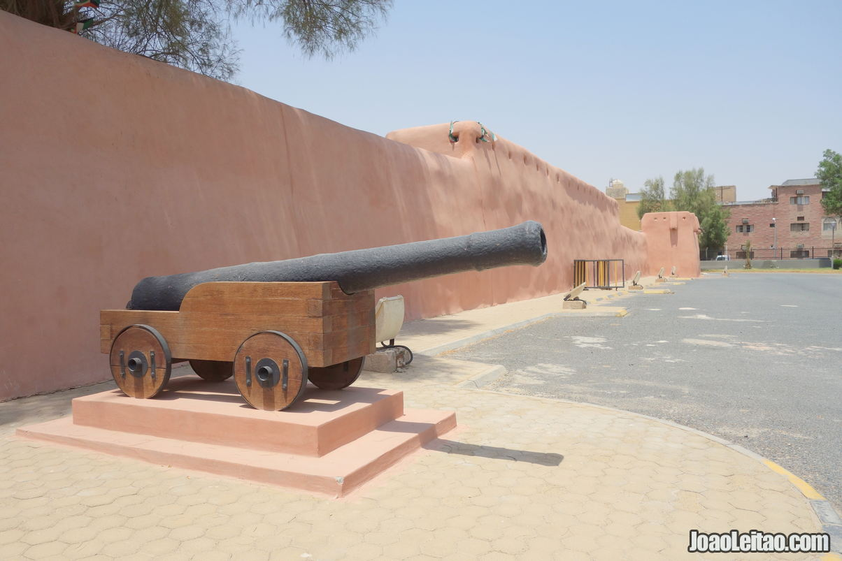 Red Fort in Jahra