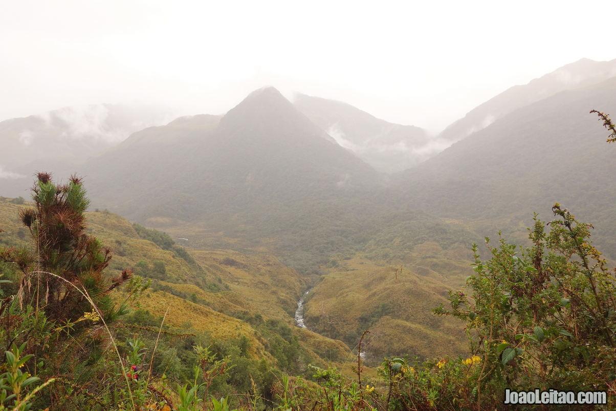 Sangay National Park in Ecuador