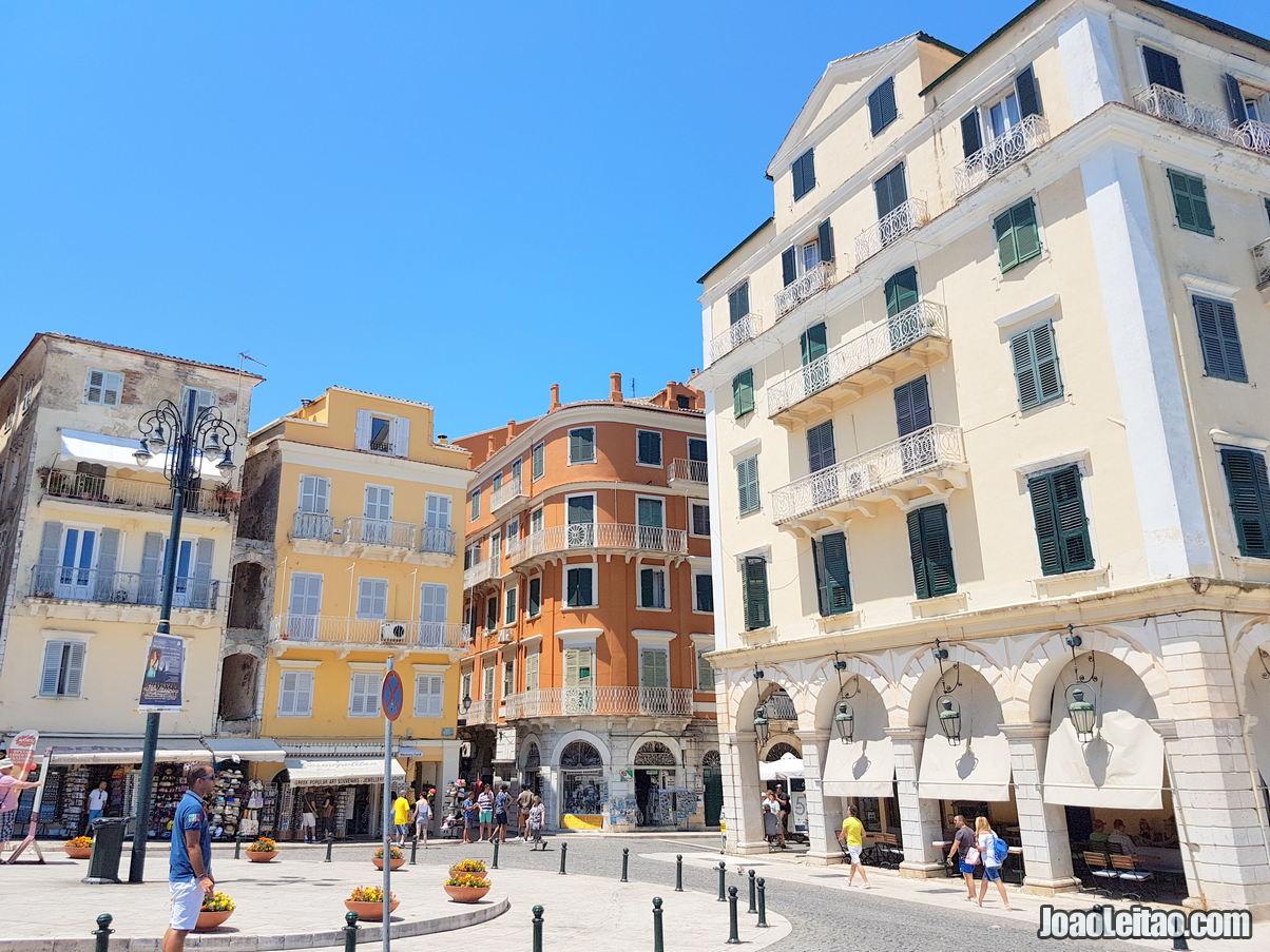 Spianada Square in Corfu