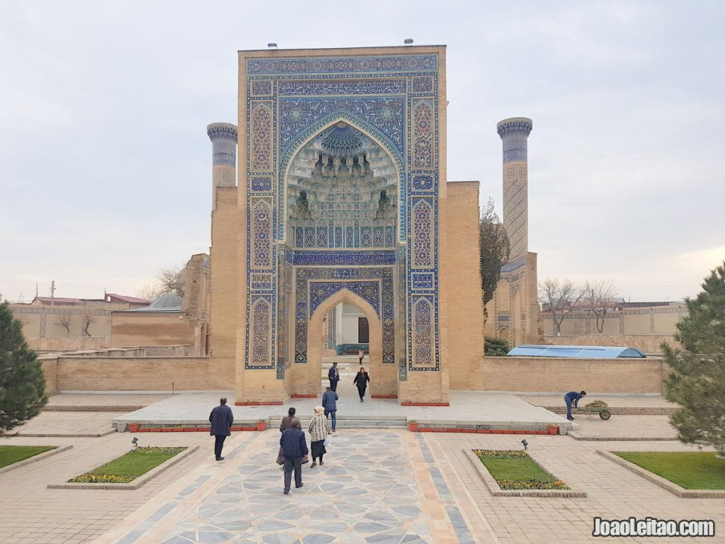 Three Days in Samarkand