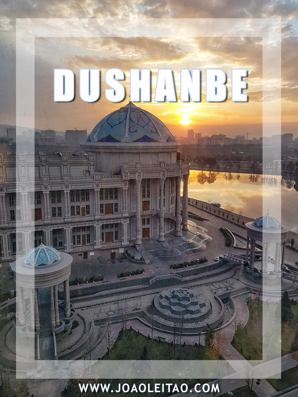 VISIT DUSHANBE