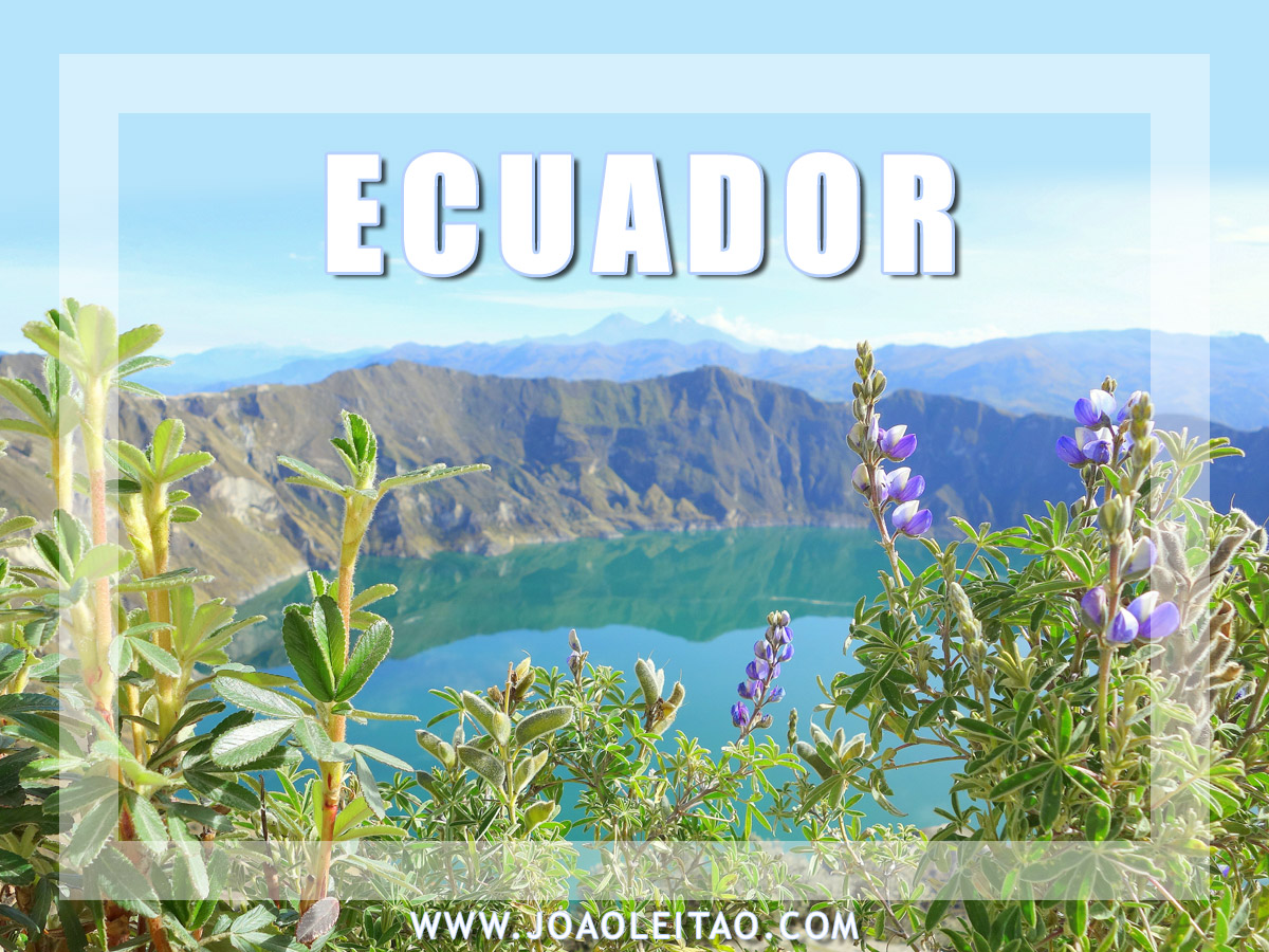 Amazing places to go when you visit Ecuador