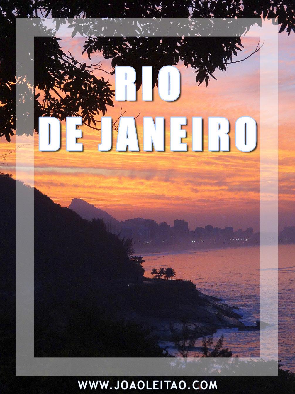 VISIT RIO DE JANEIRO BRAZIL