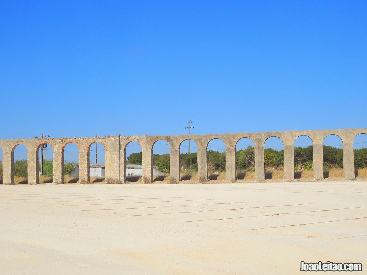 Aqueduct Obidos Portugal
