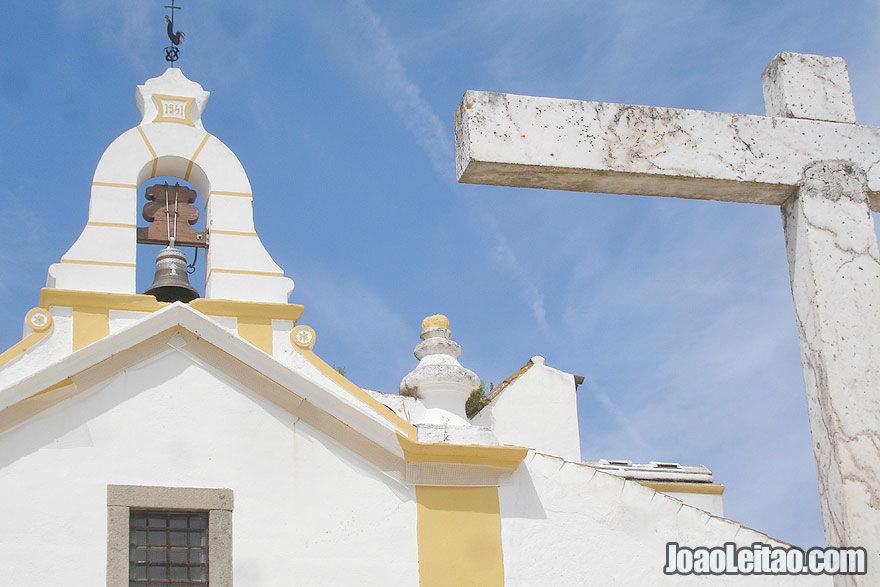 Beautiful church in Igreijinha in Alentejo