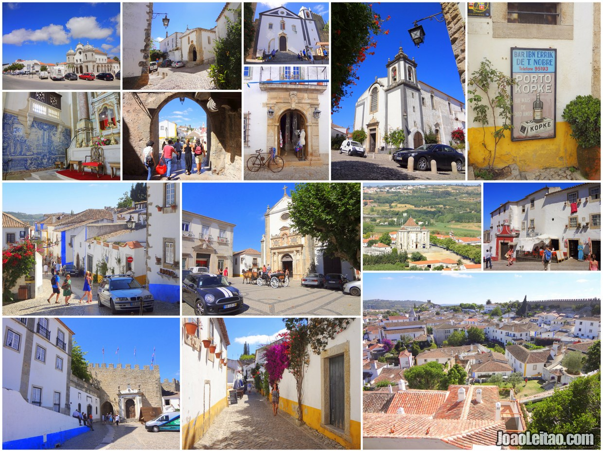 Best places to visit in Obidos