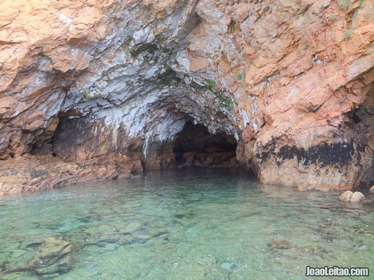 Caves in the Berlengas