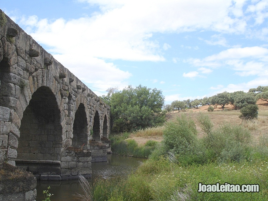 Roman bridge in Vila Formosa 2nd century