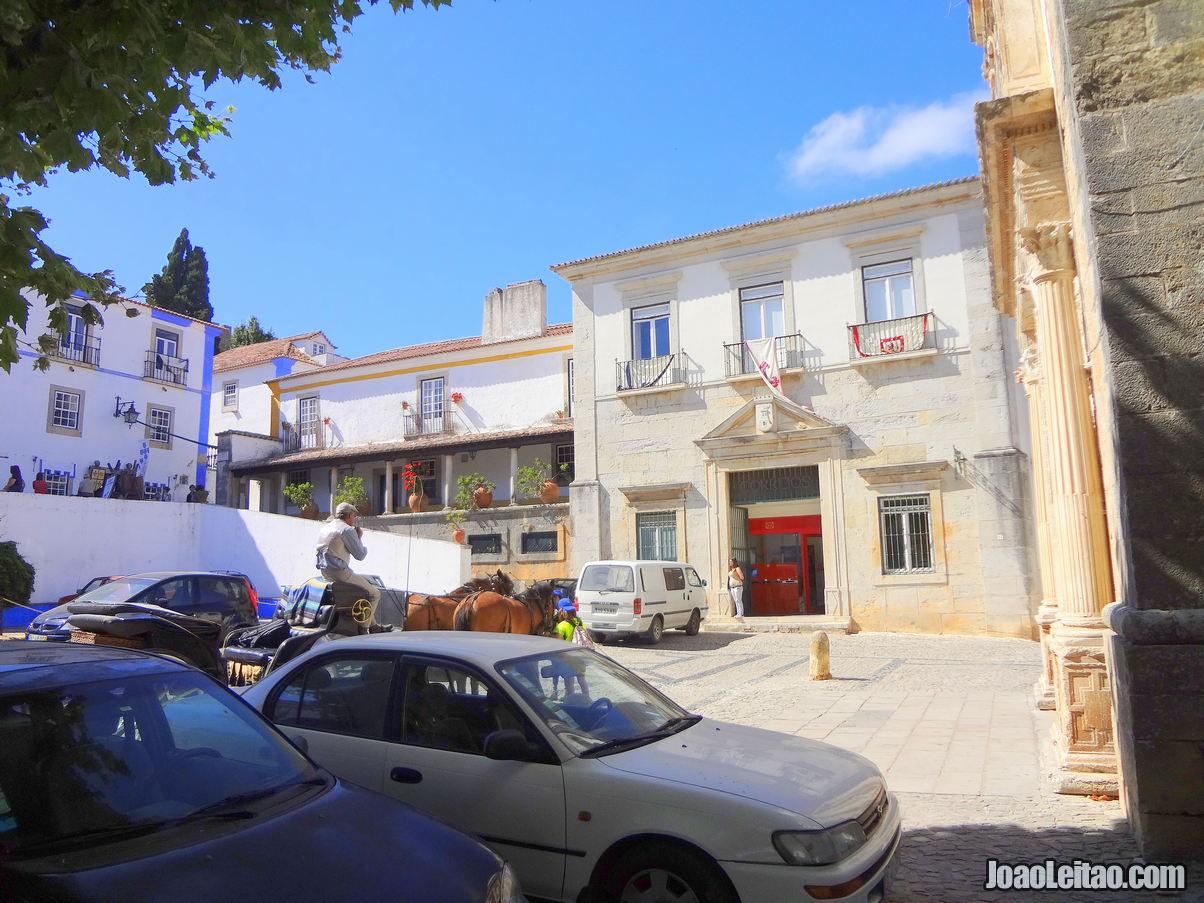 Santa Maria Square Obidos Portuga