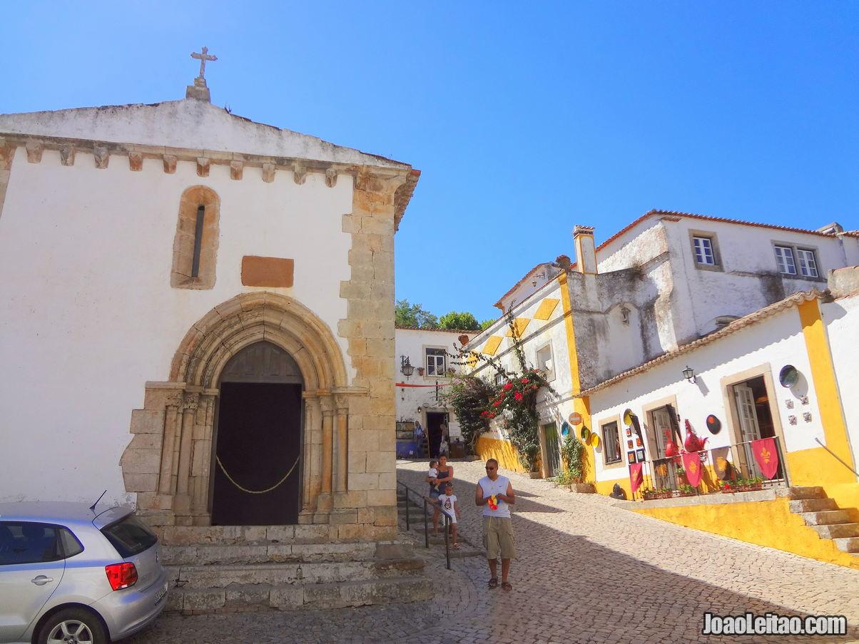 Sao Martinho Chapel Obidos Portugal