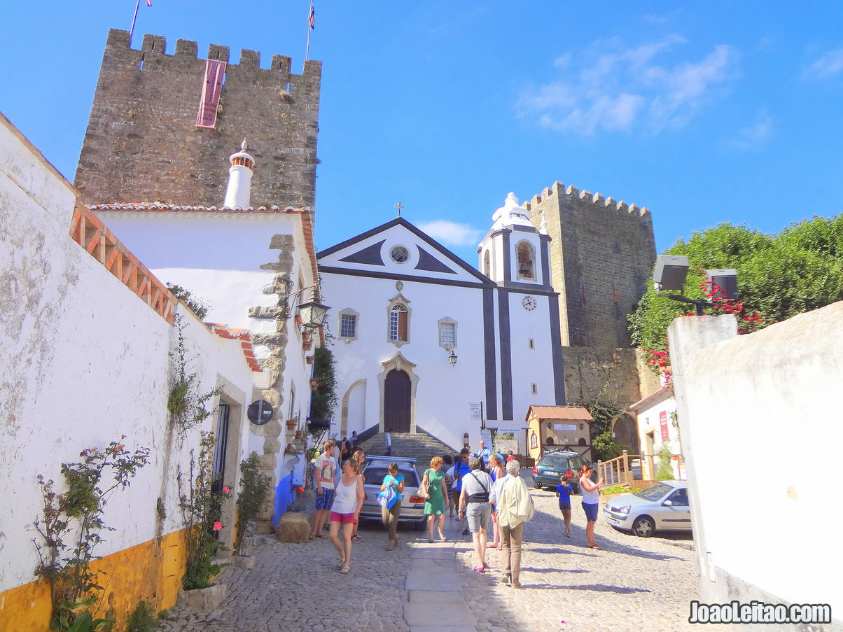 Sao Tiago Church Obidos Portugal