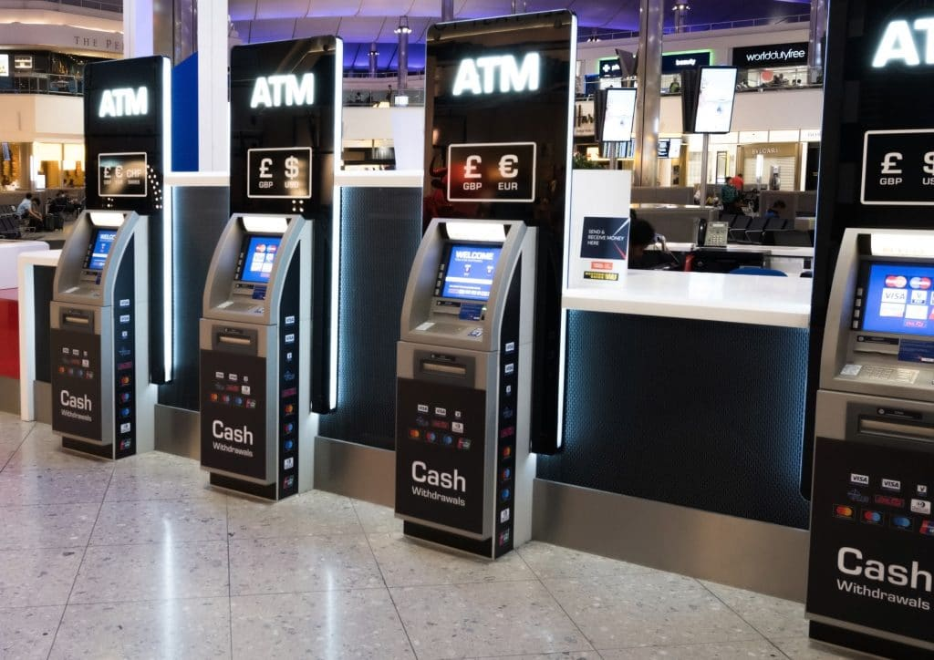 Cash, cards, and ATMs in London