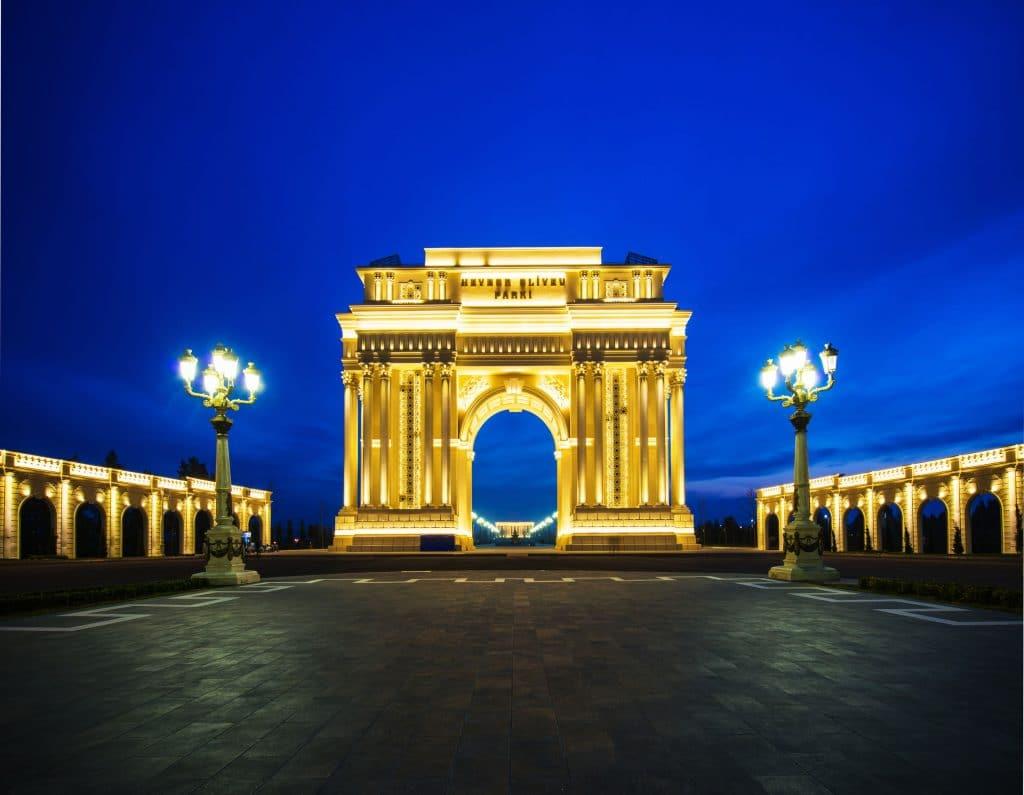 Triumph Arch in Ganja