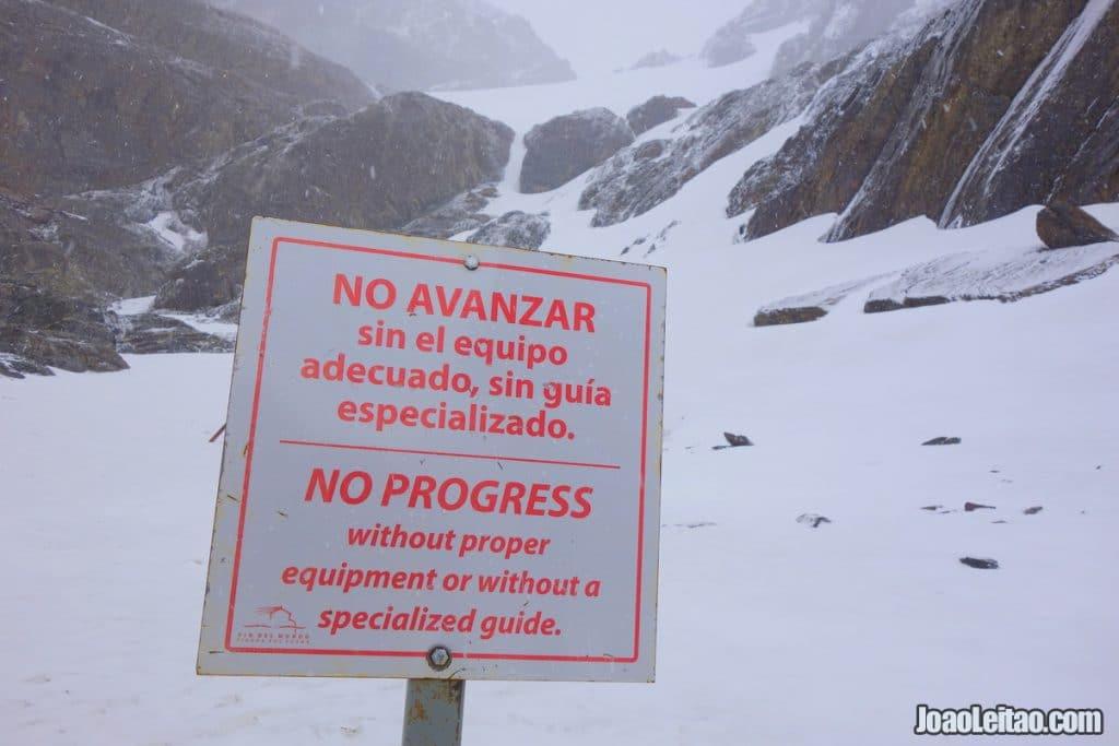 Glacier Martial in Ushuaia