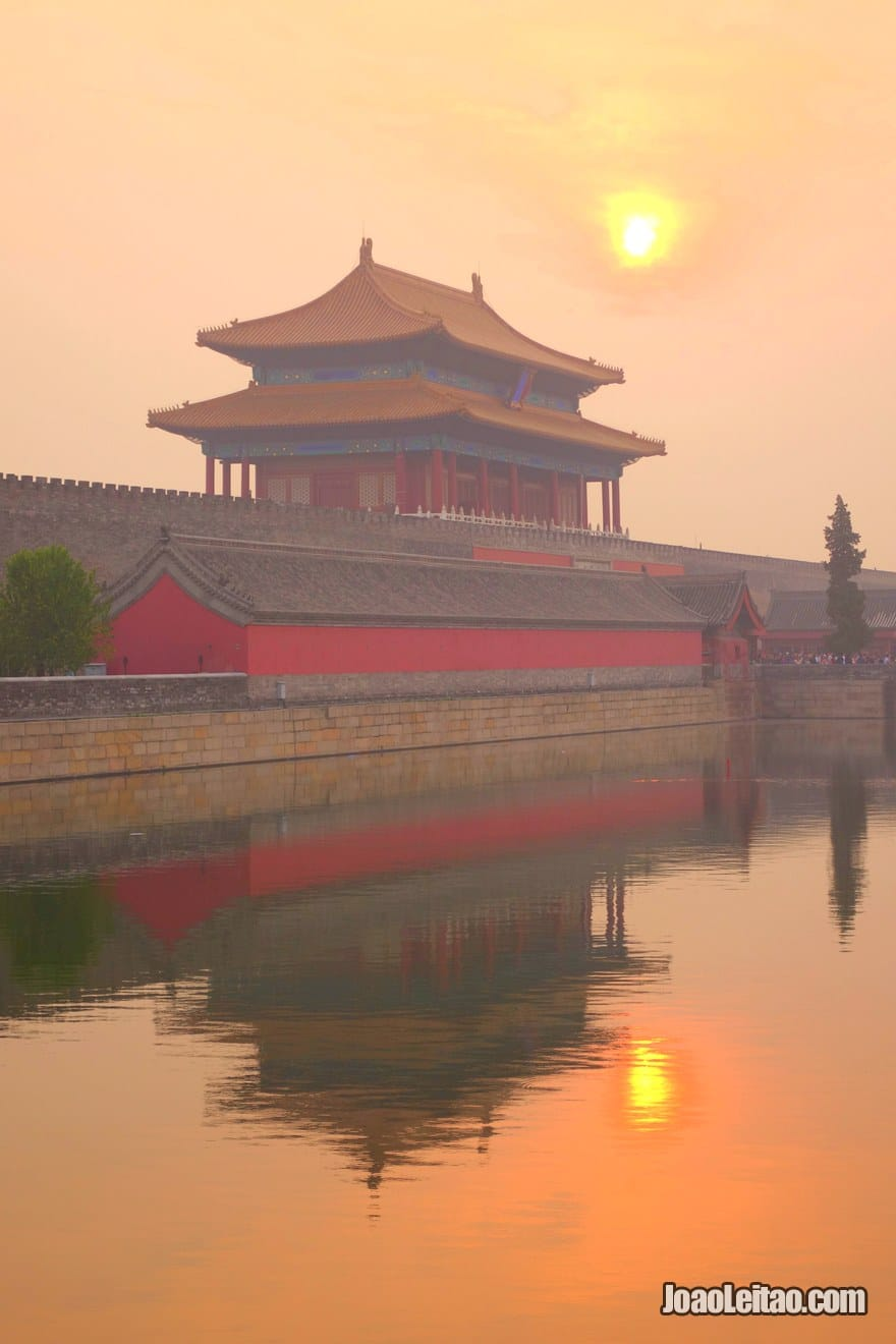 Gate of Divine Might, the north gate of the Forbidden City