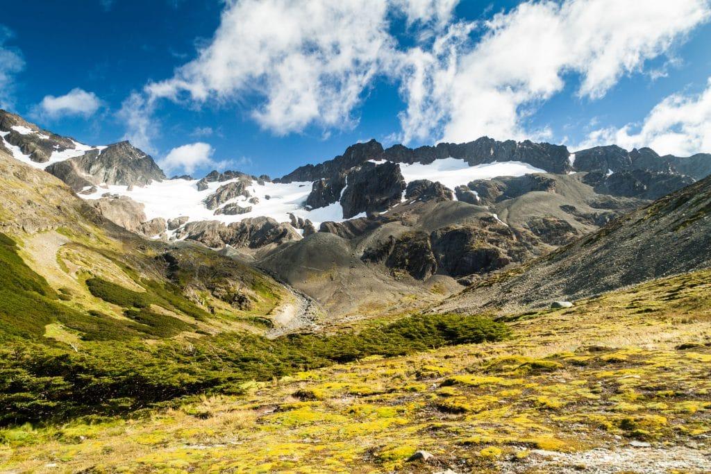 Glaciar Martial near Ushuaia, Tierra del Fuego, Argentina