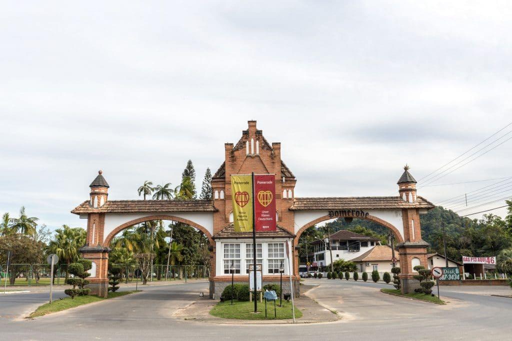 Entrance of Pomerode