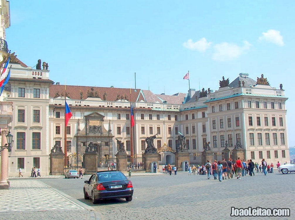 Presidential Palace in Prague Castle