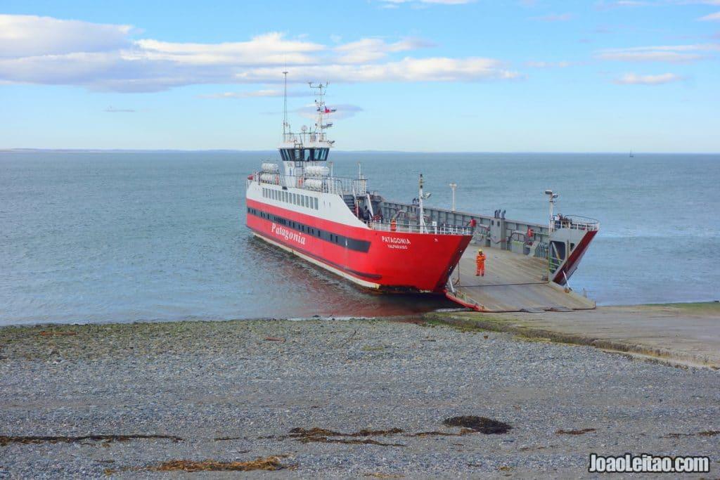 Boat Crossing to Tierra del Fuego