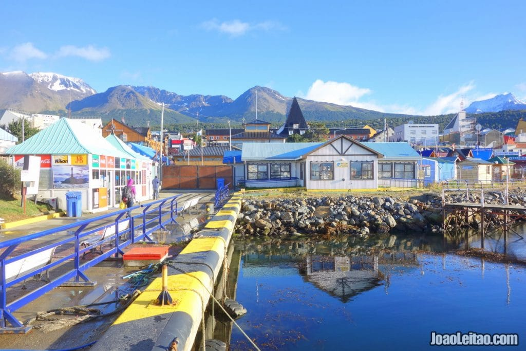 View of Ushuaia Port