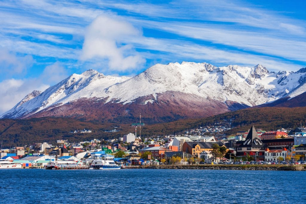 Ushuaia is the capital of Tierra del Fuego province in Argentina