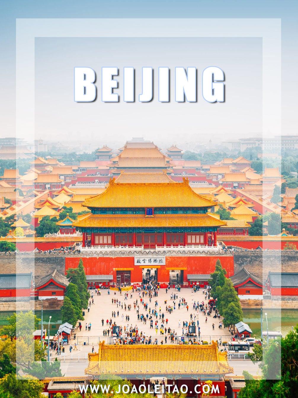 Visit Beijing China