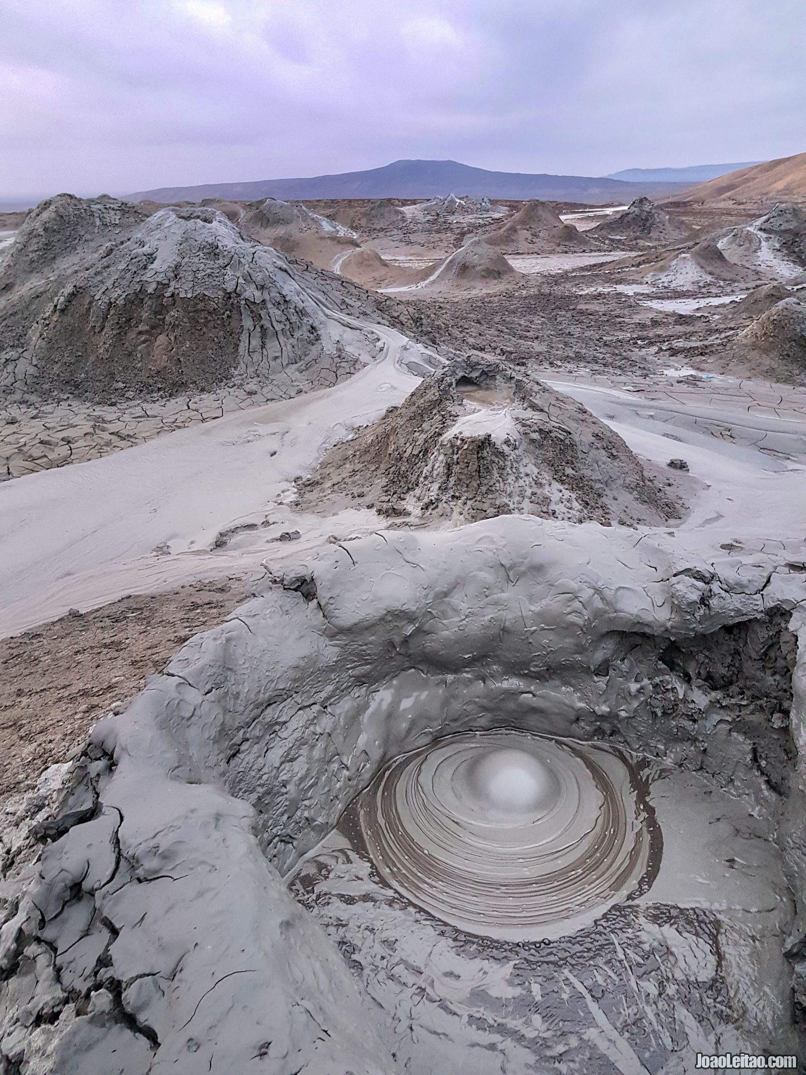 Mud volcanoes in Azerbaijan