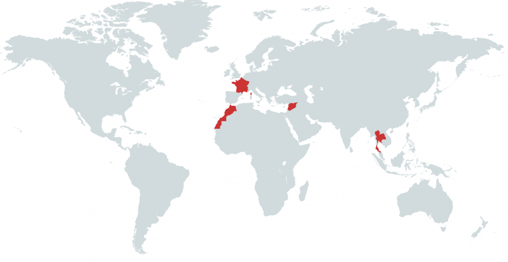 Visited Countries • Detailed Maps and Info