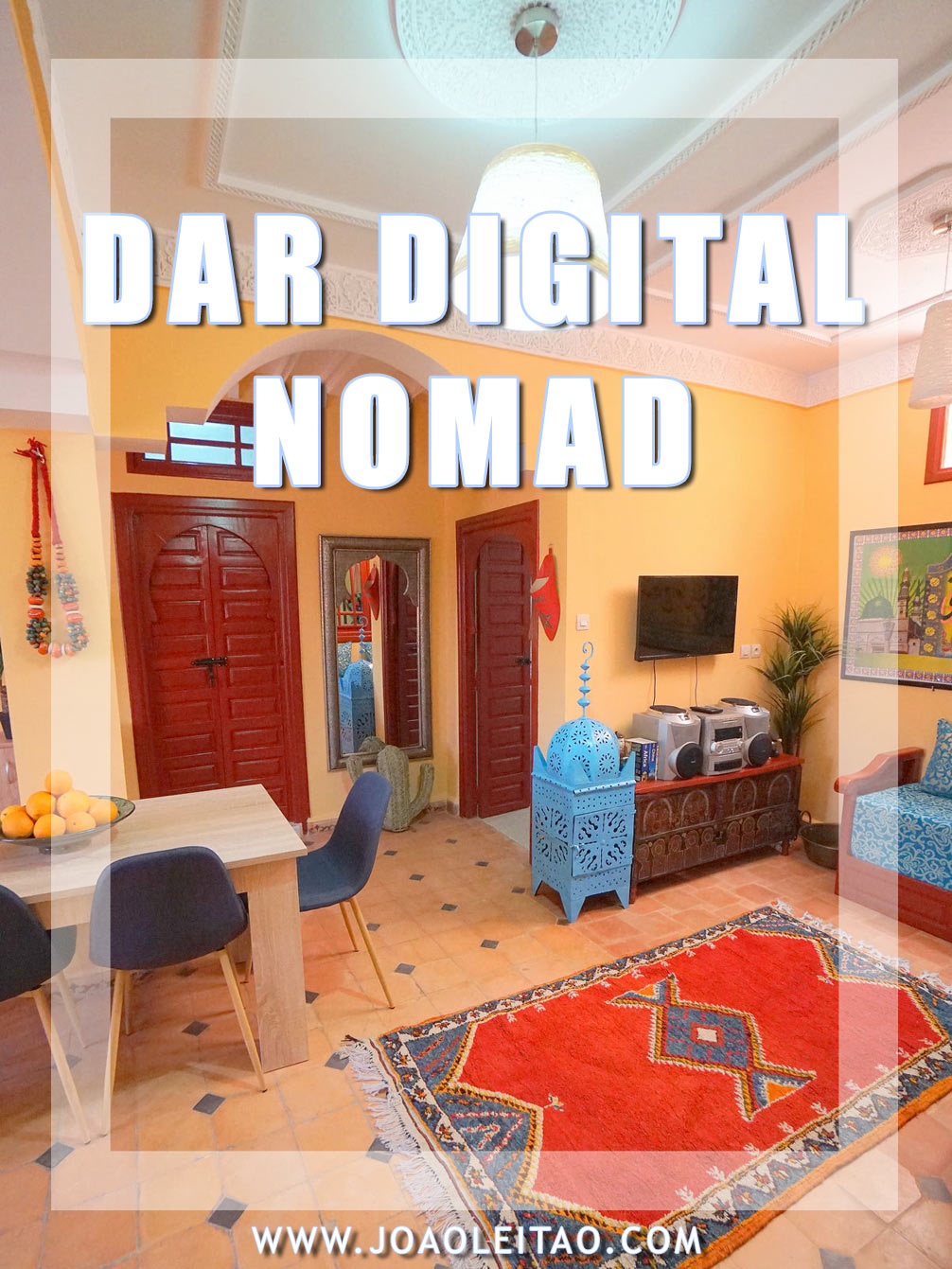 My Coworking Space • Dar Digital Nomad