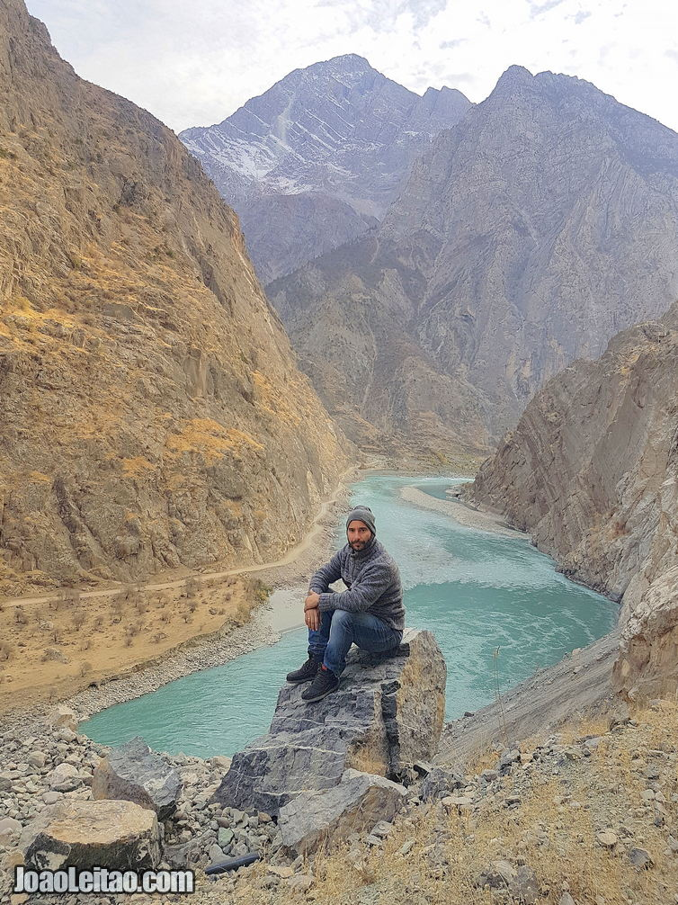 Panj River between Afghanistan and Tajikistan