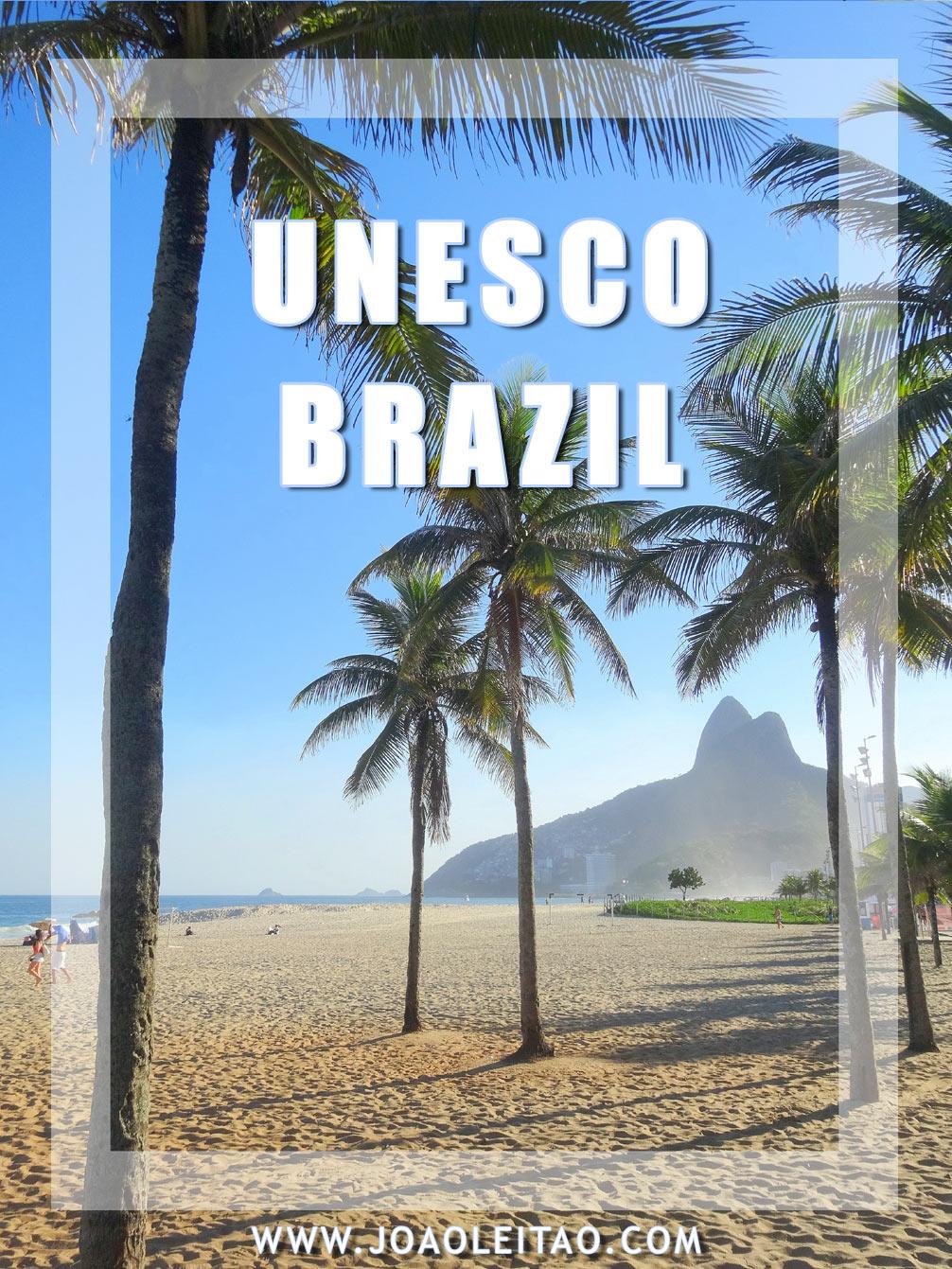 UNESCO Sites in Brazil