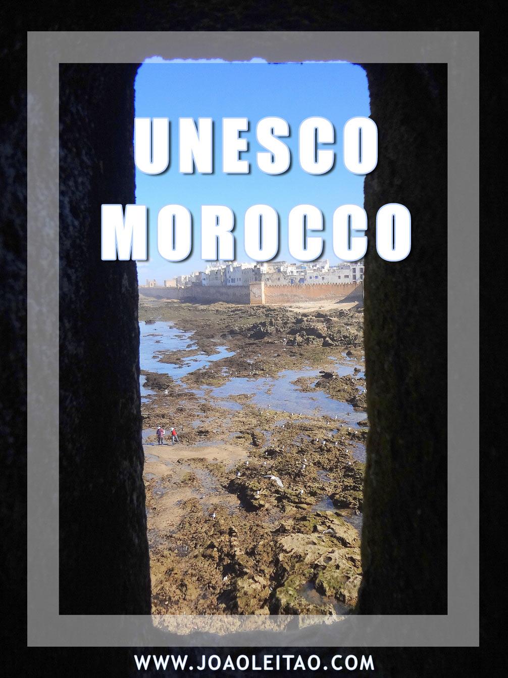 UNESCO Sites in Morocco