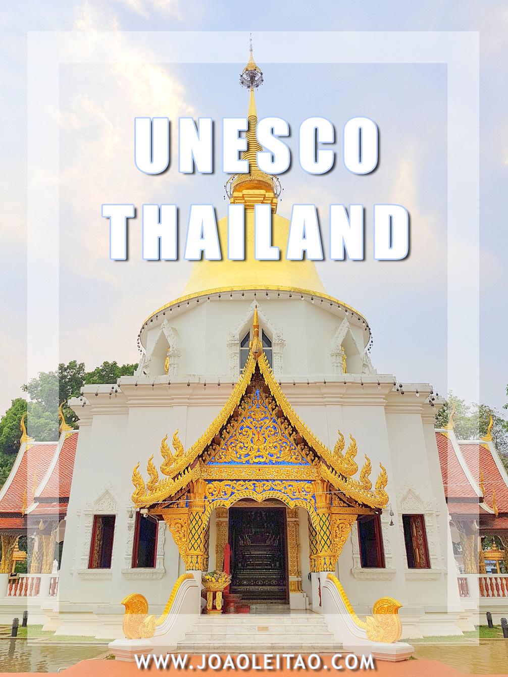 UNESCO sites in Thailand
