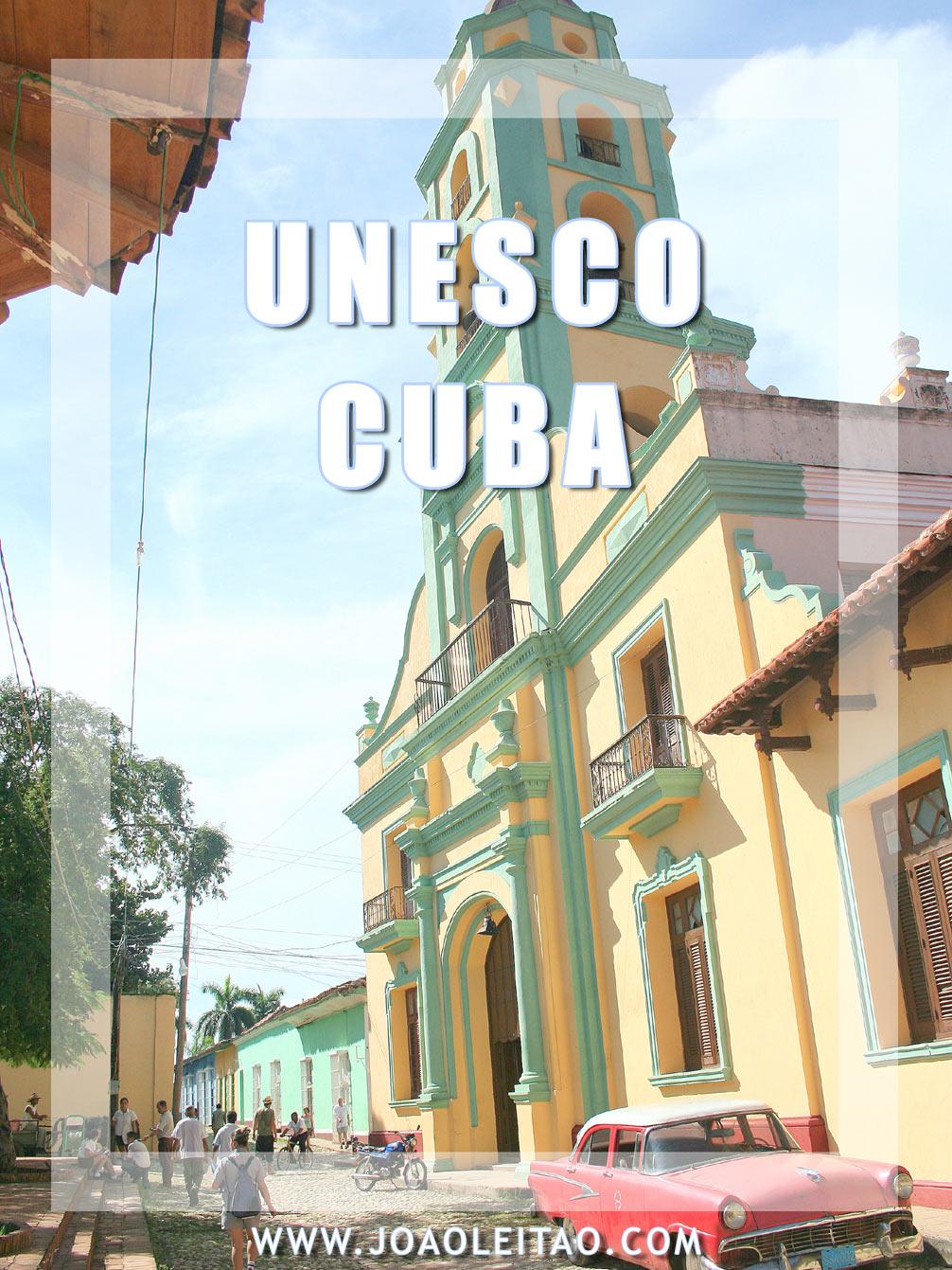 UNESCO Sites in Cuba