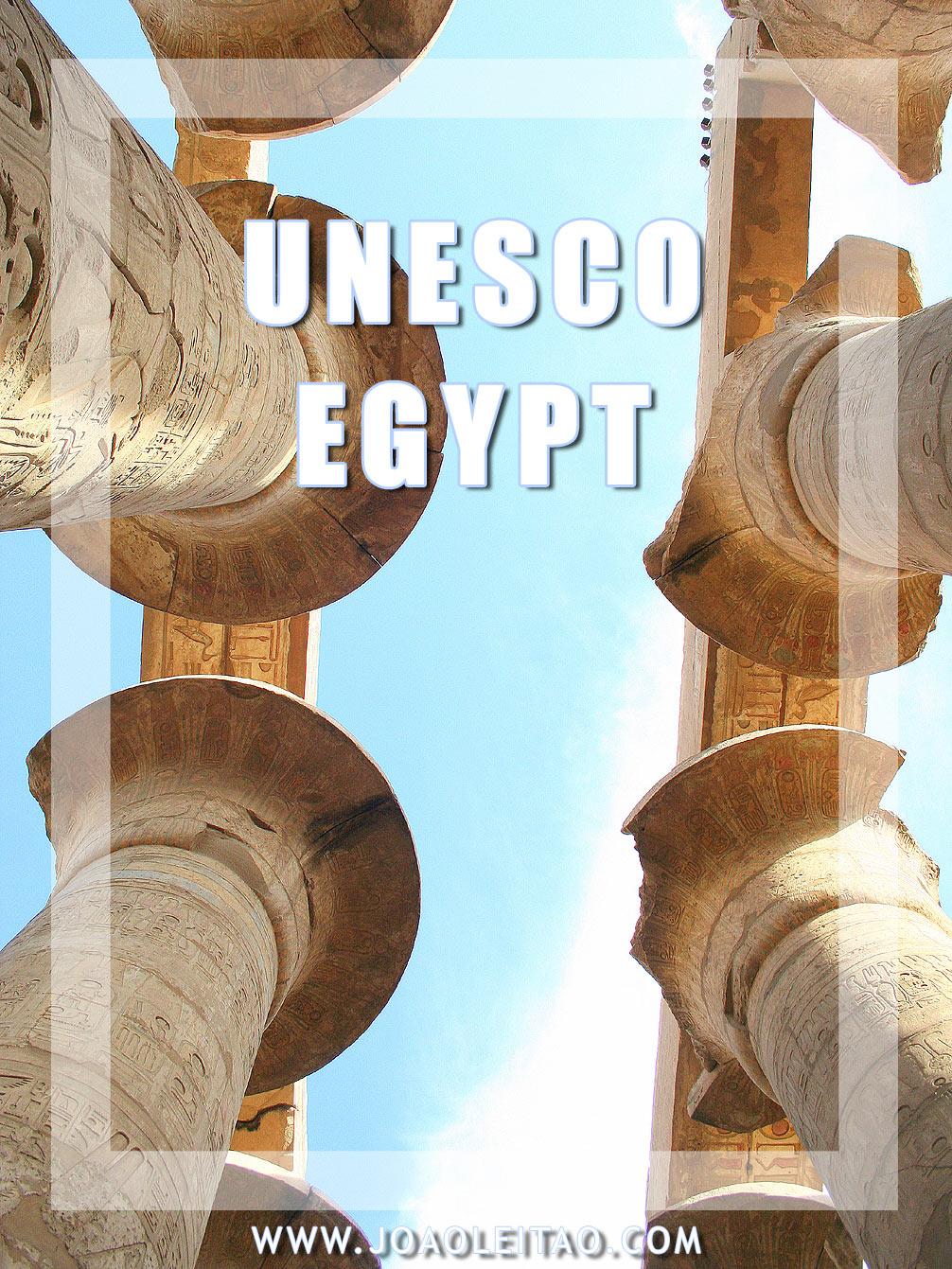 UNESCO Sites In Egypt